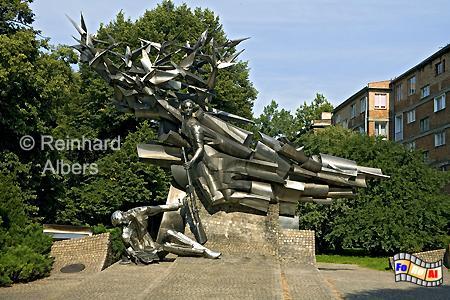 Denkmal für die Verteidiger der Polnischen Post am 1. September 1939., Polen, Danzig, Gdańsk, Polnische, Post, Verteidiger, Altstadt, Albers, Foto, foreal