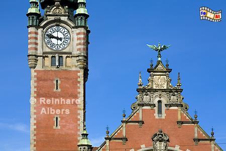 Hauptbahnhof, Polen, Danzig, Gdańsk, Hauptbahnhof, Bahnhof, Dworzec , Albers, Foto, foreal