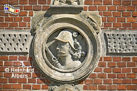 Stockturm Fassadendetail, Polen, Polska, Danzig, Gdańsk, foreal, Albers, Stockturm,