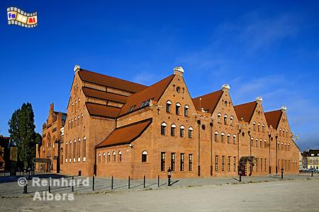 Philharmonie im ehemaligen Elektrizitätswerk, Polen, Danzig, Gdańsk, Mottlau, Speicher, Bleihof, Elektrizitätswerk, Ołowianka, Albers, Foto, foreal