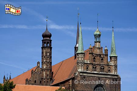 Trinitaskirche, Polen, Danzig, Gdańsk, Vorstadt, Trinitaskirche, Albers, Foto, foreal