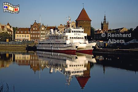 Mottlau am Morgen, Polen, Danzig, Gdańsk, Mottlau, Albers, Foto, foreal