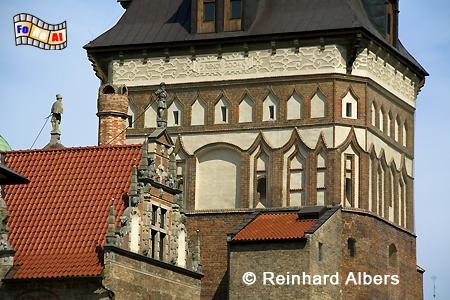 Stockturm, Polen, Polska, Danzig, Gdańsk, foreal, Albers, Stockturm,