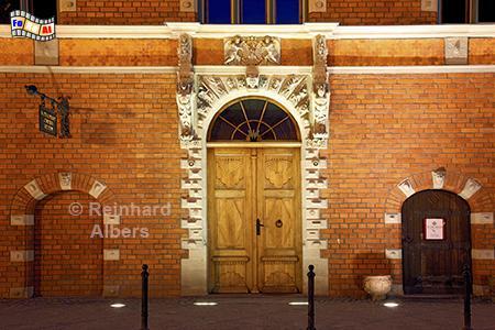 Gdańsk (Danzig) Altstädtisches Rathaus, Polen, Danzig, Gdańsk, Altstadt, Rathaus, Albers, Foto, foreal