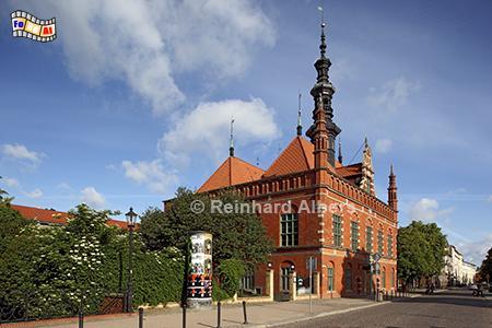Gdańsk (Danzig) Altstädtisches Rathaus, Polen, Danzig, Gdańsk, Altstadt, Rathaus, Albers, Foto, foreal,