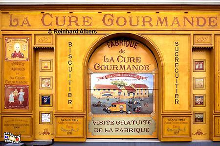Marseille - Historisierende Werbetafel einer Biskuitterie., Frankreich, France, Provence, Marseille, Werbetafel, Biskuit, foreal, Albers