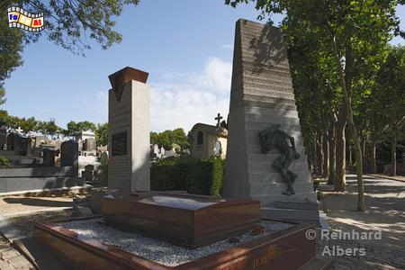 Friedhof Père Lachaise - Mahnmale für KZ-Opfer., Paris, Cimtière, Friedhof, Père, Lachaise, KZ-Opfer, Albers, Foto, foreal,